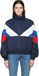 Gosha Rubchinskiy Navy And Tricolor Sport Jacket
