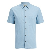 Nudie Jeans Men's Brandon Short Sleeve Shirt Denim