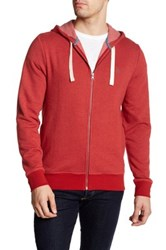 Original Penguin Fleece Zip Jacket Red