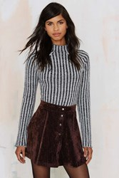 Nasty Gal After Party Hard Corduroy Skirt