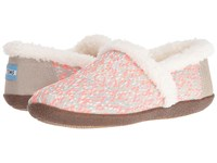 Toms Slipper Pink Glitz Woven Women's Slippers