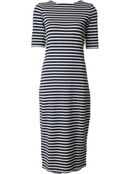 Norse Projects 'Teresa' Striped Dress Blue
