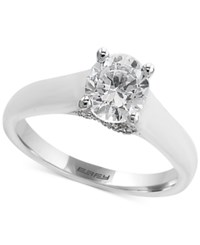 Macy's Effy Diamond Solitaire Engagement Ring 1 Ct. T.W. In 18K White Gold