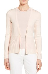Boss Women's 'Fily' V Neck Wool Blend Cardigan