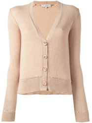 Etro Button Up Cardigan Nude Neutrals