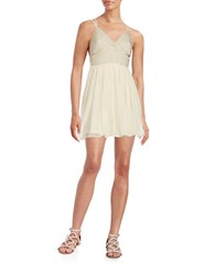 Free People Party Like A Diamond Dress Ivory