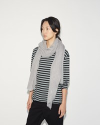 Hope Big Scarf Light Grey Melange