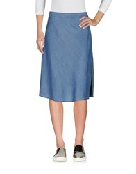 Selected Femme Denim Skirts Blue
