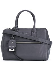 Marc Jacobs Tote Bag Women Calf Leather One Size Grey