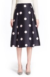Women's Kate Spade New York 'Lysa' Dot Print Midi Skirt