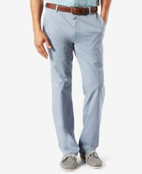 Dockers Men's Classic Fit Pacific Wash Khaki Pants Ventana Blue