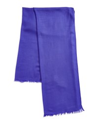 Lord And Taylor Oversize Wool Cashmere Wrap Scarf Purple