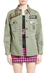 Marc Jacobs Women's Cotton Sateen Military Jacket