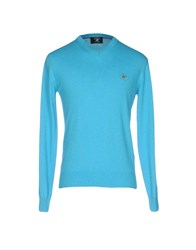 Beverly Hills Polo Club Knitwear Jumpers Azure