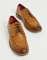 Base London Constable Lace Ups In Tan