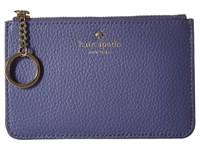 Kate Spade Cobble Hill Large Card Holder Oyster Blue Multi Credit Card Wallet