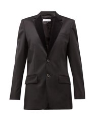Bella Freud Allen Tailored Wool Blend Jacket Black