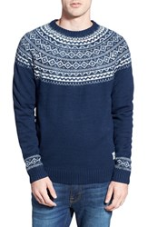 Men's Bellfield Crewneck Jacquard Knit Sweater