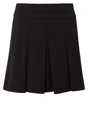 Esprit Pleated Skirt Black