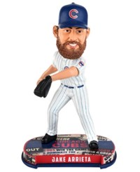 Forever Collectibles Jake Arrieta Chicago Cubs Headline Bobblehead Blue