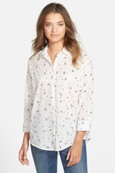 Madewell Celestial Embroidered Shirt White