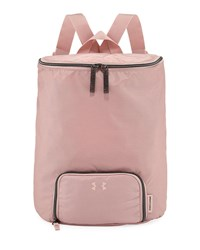 Under Armour Midi Zip Top Water Resistant Backpack Pink