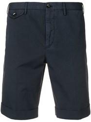 Incotex Blue Chino Shorts