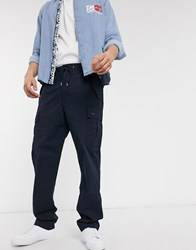 Tommy Hilfiger Track Cargo Trousers Black