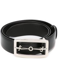 Cesare Paciotti Dagger Buckle Belt Black
