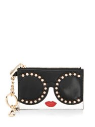 Alice Olivia Evy Stace Face Leather Coin Purse Multi