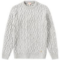 Armor Lux 74755 Heritage Cable Knit Grey
