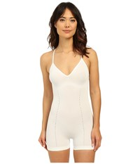 Spanx Loungerie Romper White Women's Jumpsuit And Rompers One Piece