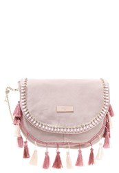 Patrizia Pepe Across Body Bag Butterfly Rose Nude