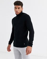Tom Tailor Turtleneck In Black