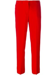 Ermanno Scervino Classic Trousers Red