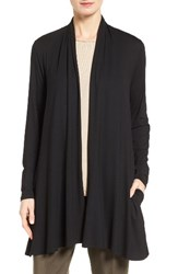Eileen Fisher Women's Shaped Lightweight Jersey Cardigan