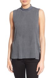 Women's Stateside Gauzy High Neck Tank