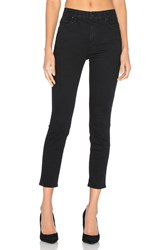 Mother High Waisted Looker Crop Black