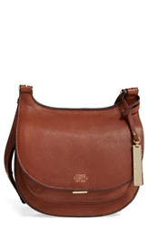 Vince Camuto 'Small Elyza' Crossbody Bag Brown Brandy
