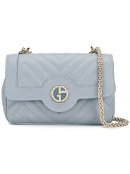Giorgio Armani Mini Shoulder Bag Blue