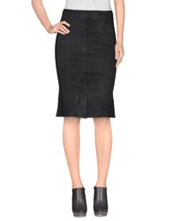 Nolita Skirts Knee Length Skirts Women Black