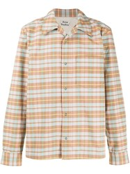 Acne Studios Checked Flannel Shirt 60