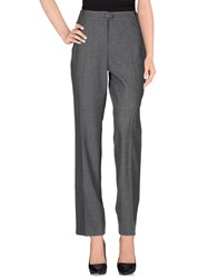 Escada Sport Trousers Casual Trousers Women Grey