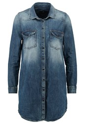 Ltb Marilla Denim Dress Ino Wash Blue Denim