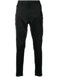 White Mountaineering Slim Fit Trousers Black