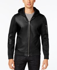 Inc International Concepts Men's Senses Hooded Jacket Only At Macy's Deep Black