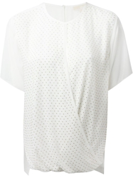Michael Michael Kors Studded Top White