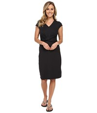 Exofficio Wanderlux Twist Dress Black Women's Dress