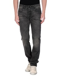 Fay Denim Pants Steel Grey