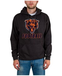 Junk Food Men's Chicago Bears Wing T Formation Hoodie Heather Charcoal